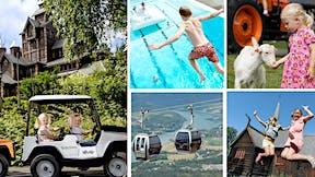 Sommerpakke 3 netter og alle aktiviteter i Lillehammer og Hunderfossen
