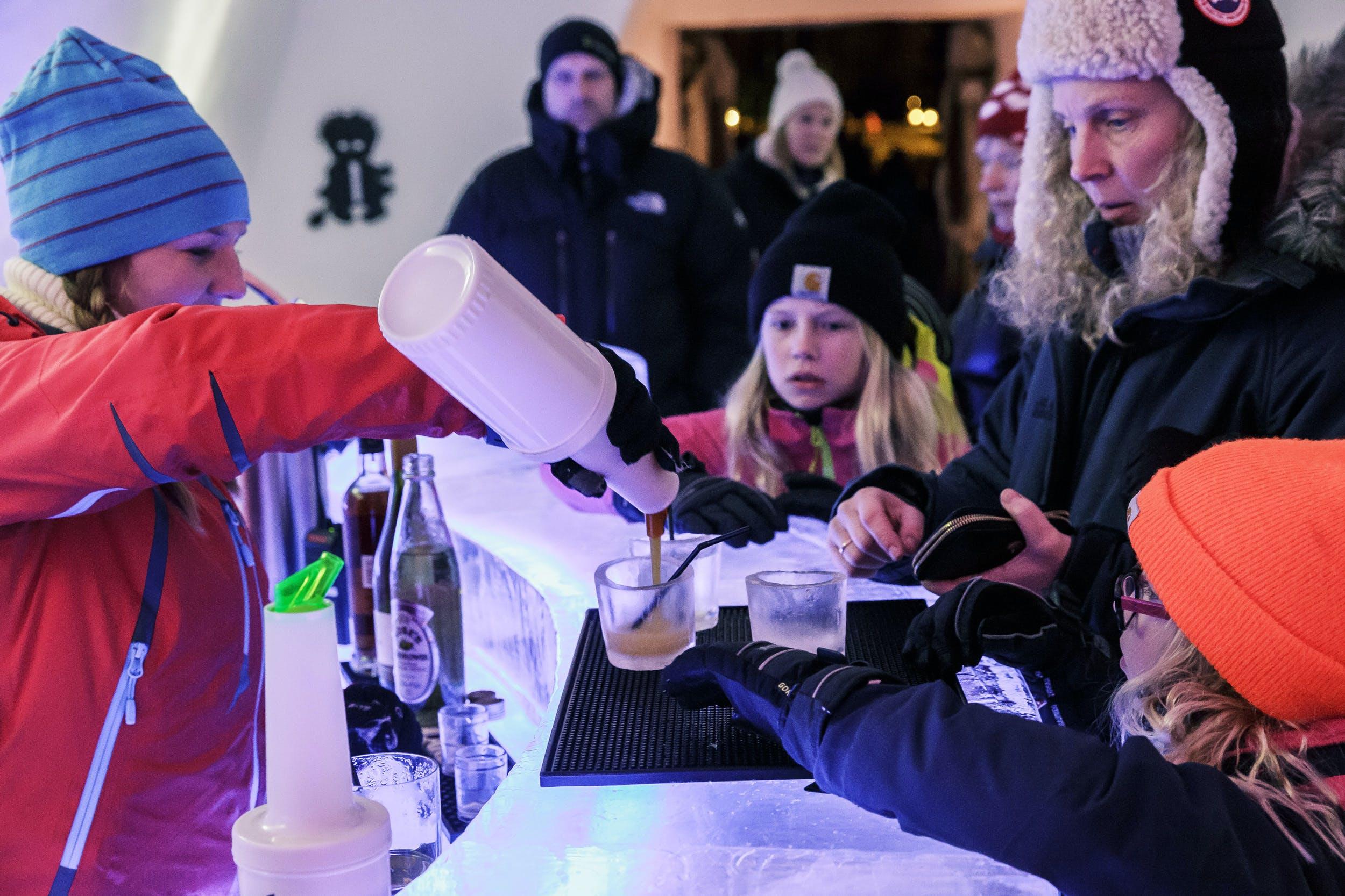 King Valemon's ice bar