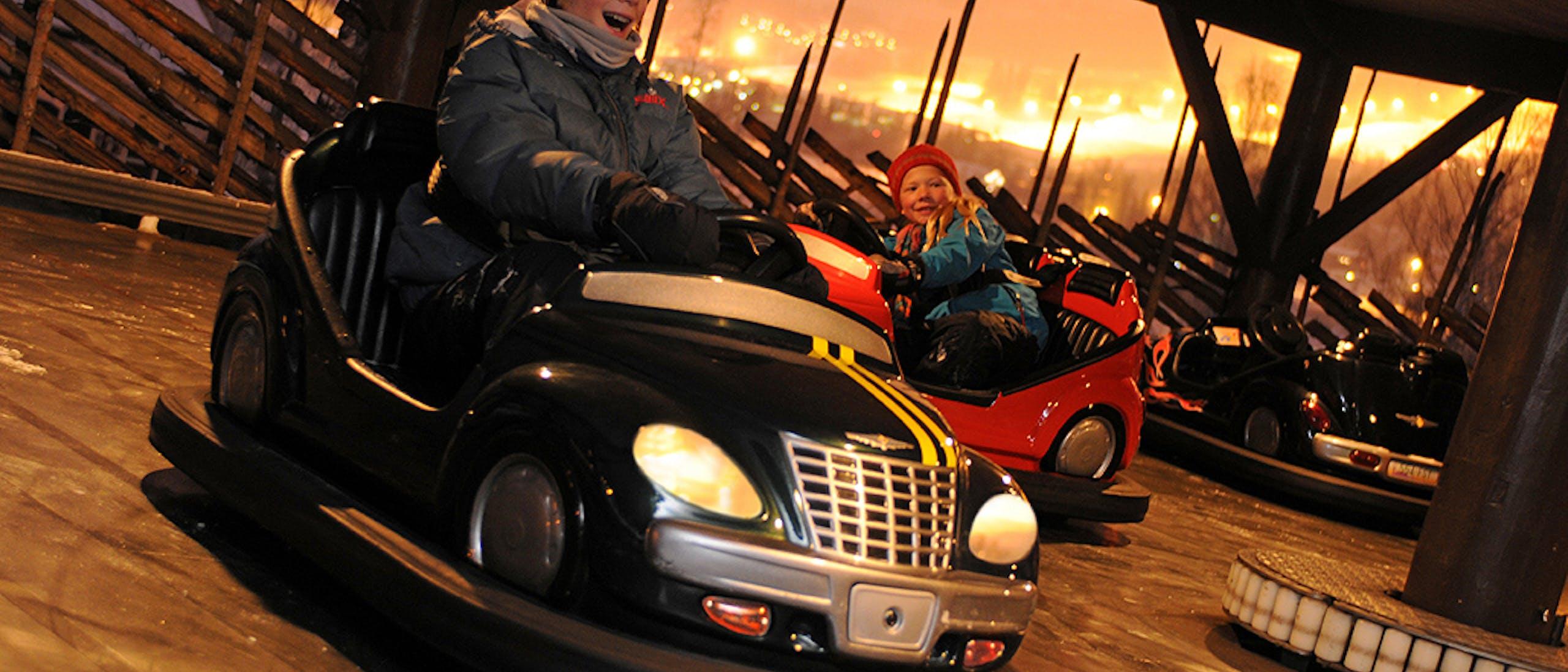 Prøv Radiobil i Hunderfossen Vinterpark