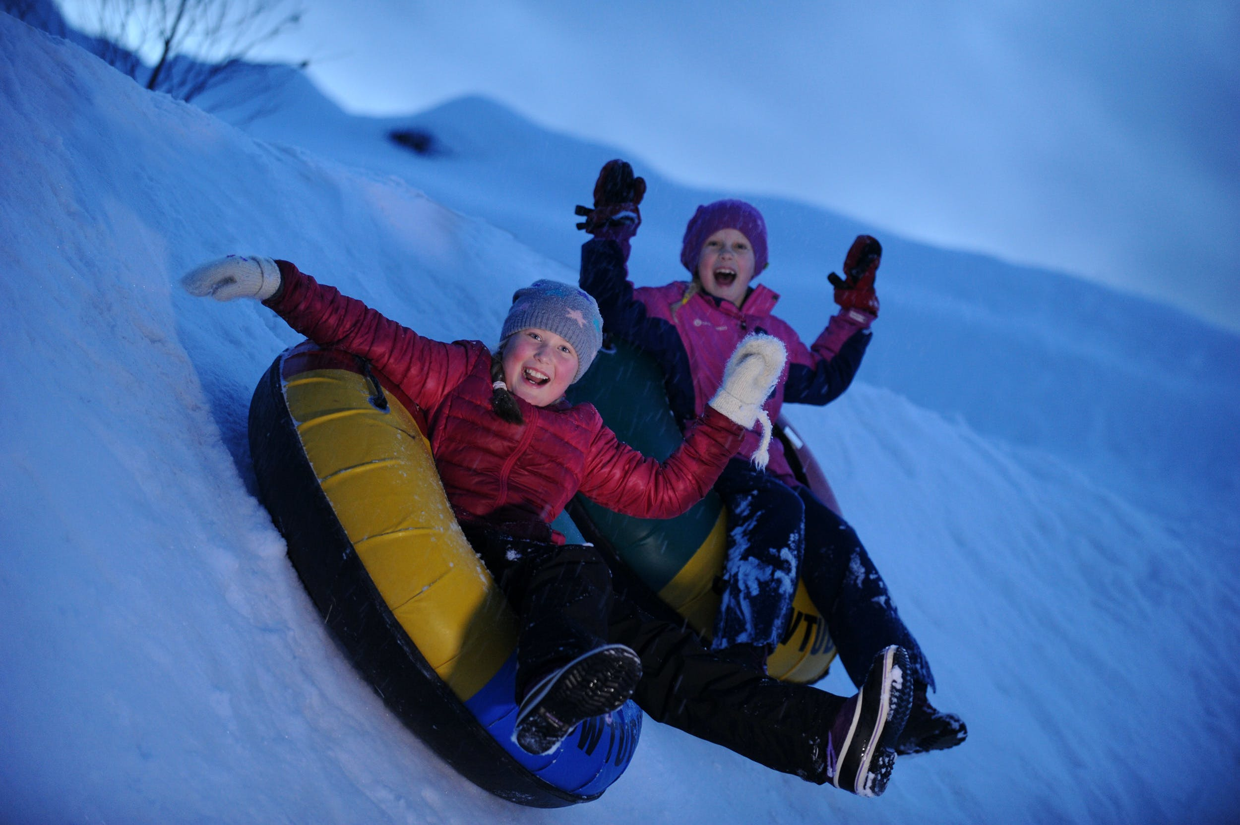 Sledging and Snow Rafting