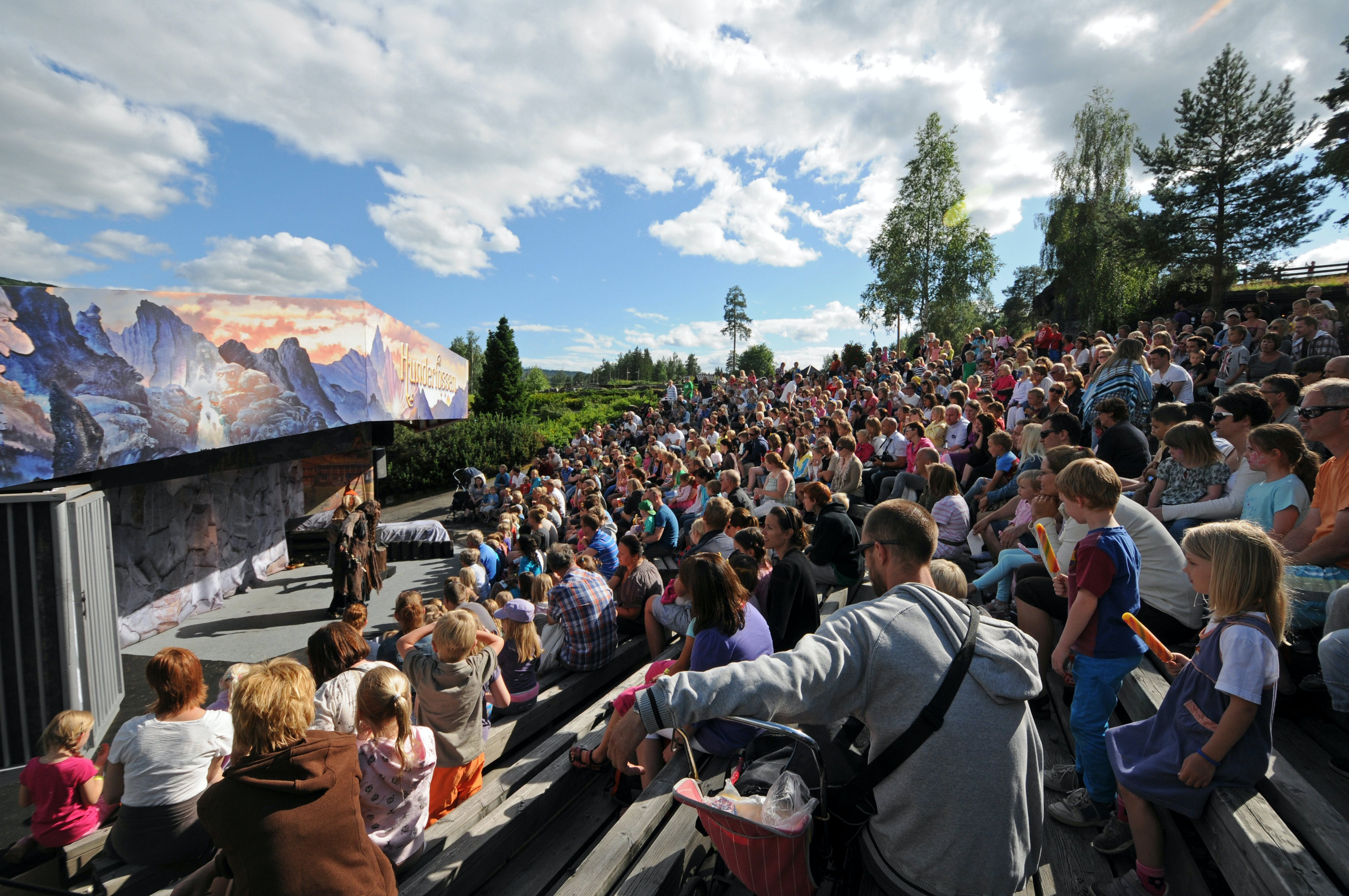 Fairy-Tale show in the amphitheatre